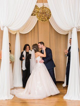 Wedding Drape at Metropolis Ballroom Photo by Dabble Me This